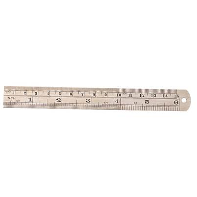"Draper 150mm/6"" Steel Rule"