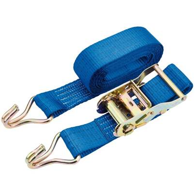 Draper 1000kg Ratcheting Tie Down Straps (5.4M x 50mm)
