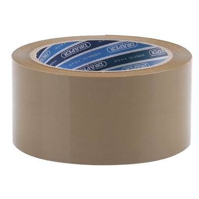 Draper 66M x 50mm Packing Tape Roll