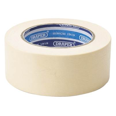 Draper Masking Tape Roll (50M x 50mm)