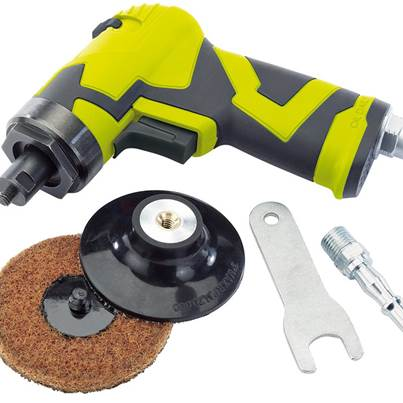 Draper Storm Force® Compact Composite Air Sander (75mm)