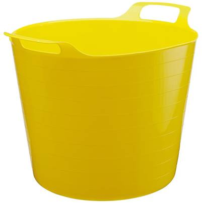 Draper Multi Purpose Flexible Bucket - Yellow (26L)
