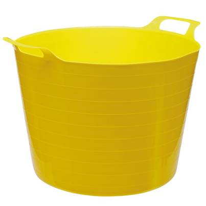 Draper Multi Purpose Flexible Bucket - Yellow (40L)