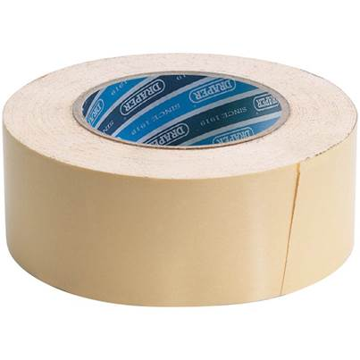 Draper 50M x 50mm Heavy Duty Double Sided Tape
