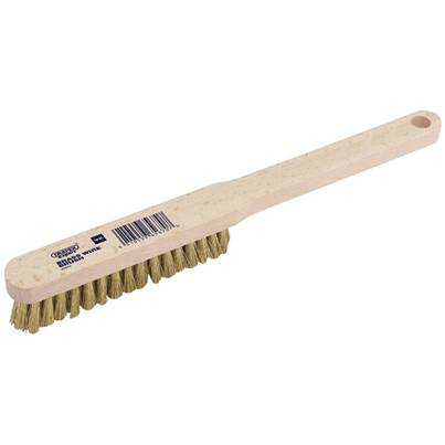 Draper Brass Fill Wire Hand Brush (225mm)