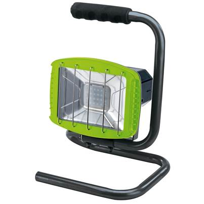 Draper 230V Work Light with Wireless Speaker - 1,200 Lumens (Green, 85 dB Speaker)