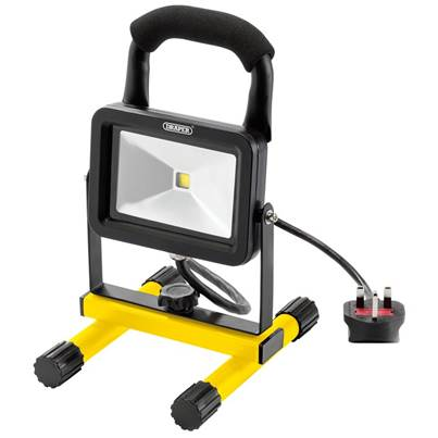 Draper 10W 230V COB LED Work Light - 700 Lumens