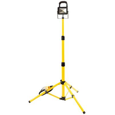 Draper 10W 110V COB LED Work Light with Tripod - 700 Lumens