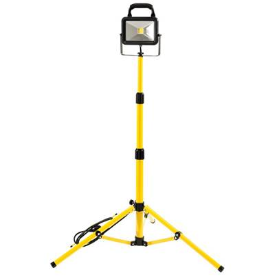 Draper 20W 230V COB LED Work Light with Tripod - 1,300 Lumens
