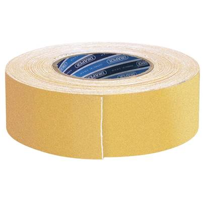 Draper 18M x 50mm Yellow Heavy Duty Safety Grip Tape Roll