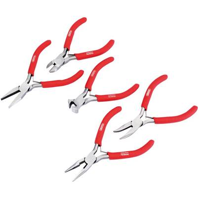 Draper Mini Pliers Set with PVC Dipped Handles (5 Piece)