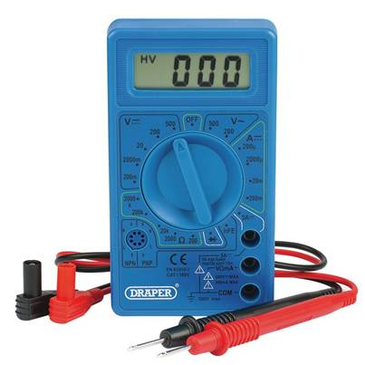 Draper Digital Multimeter