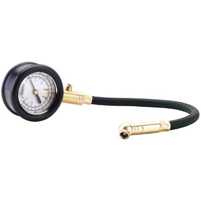 Draper Tyre Pressure Gauge with Flexible Hose