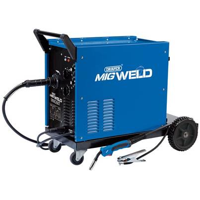 Draper 230/400V Gas/Gasless Turbo MIG Welder (250A)