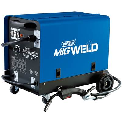 Draper 230V Gas/Gasless Turbo MIG Welder (160A)