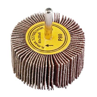 Draper Abrasive Flap Wheel (60mm x 30mm 80 Grit)