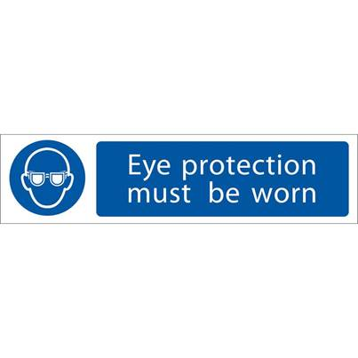Draper 'Eye Protection' Mandatory Sign