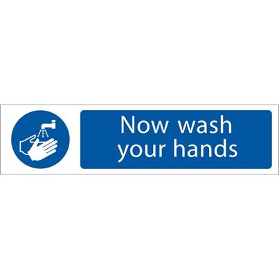 Draper 'Wash Your Hands' Mandatory Sign
