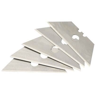 Draper Card of 5 Two Notch Trimming Knife Blades
