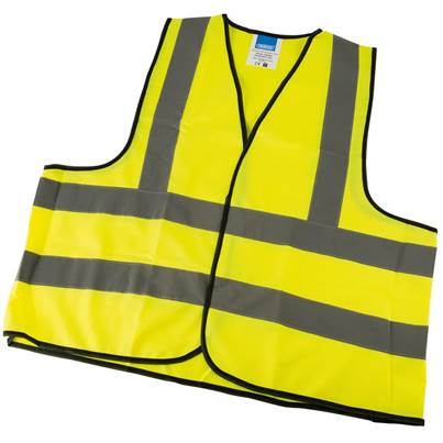 Draper High Visibility Large Traffic Waistcoat to EN471 Class 2L