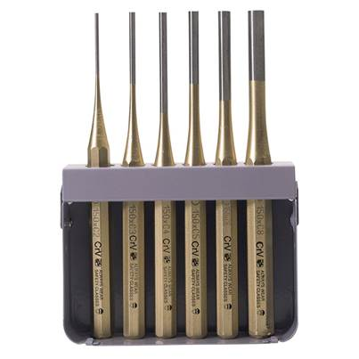 Draper Octagonal Parallel Pin Punch Set (6 Piece)