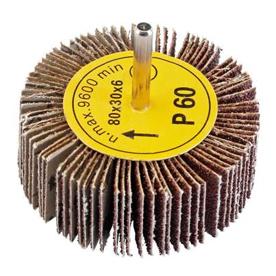 Draper Abrasive Flap Wheel (80mm x 30mm 60 Grit)