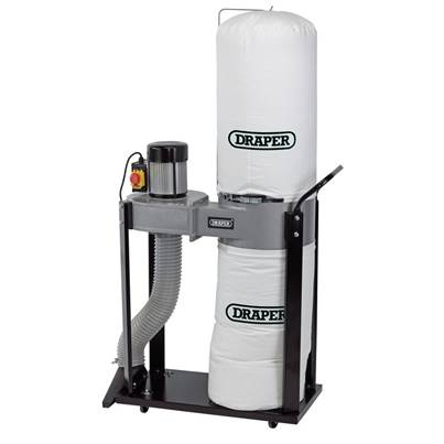 Draper 55L Portable Dust/Chip Extractor (750W)