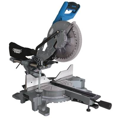 Draper 255mm Double Bevel Sliding Compound Mitre Saw (2000W)