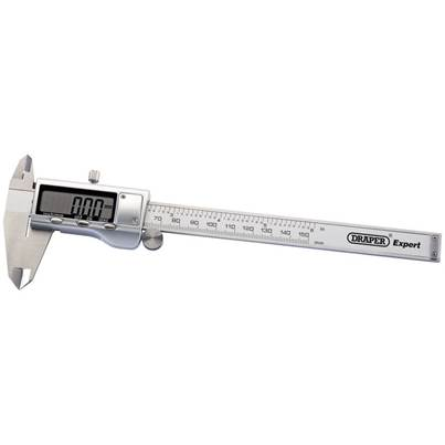 Draper Dual Reading Digital Vernier Caliper, 150mm