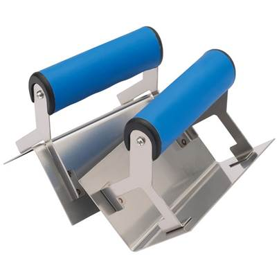 Draper Soft Grip Corner Trowel Set (2 Piece)