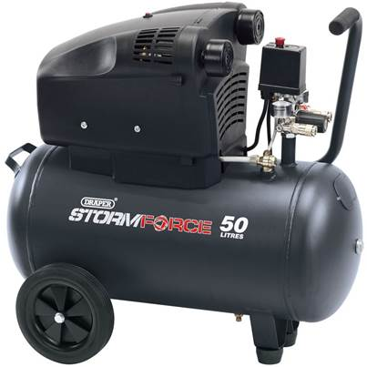 Draper 50L Air Compressor (1.8kW)
