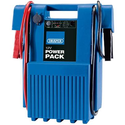 Draper 12V Heavy Duty Portable Power Pack (1600-3200A)