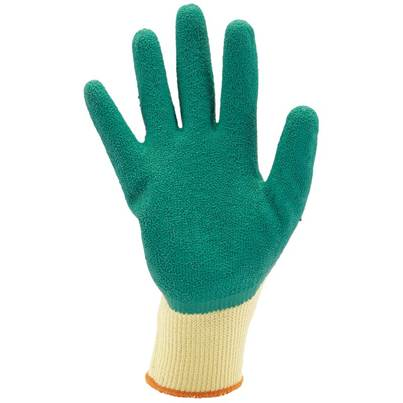 Draper Green Heavy Duty Latex Coated Work Gloves - Extra Large
