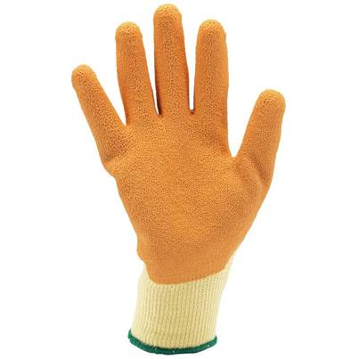 Draper Orange Heavy Duty Latex Coated Work Gloves - Large