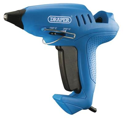 Draper Storm Force® Variable Heat Glue Gun with Six Glue Sticks (400W)