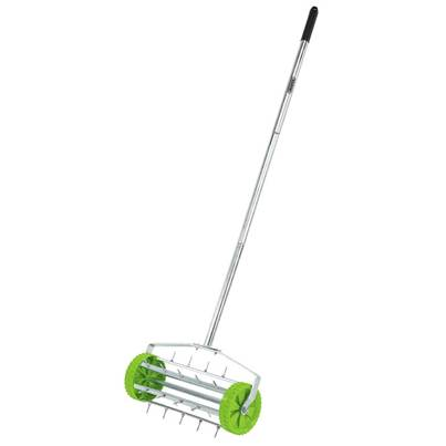 Draper Rolling Lawn Aerator (450mm Spiked Drum)