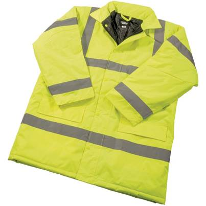 Draper High Visibility Traffic Jacket - Size L