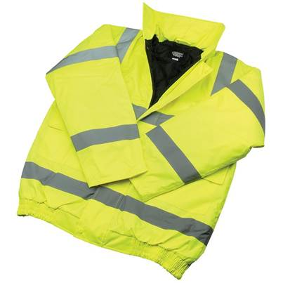 Draper High Visibility Bomber Jacket - Size M