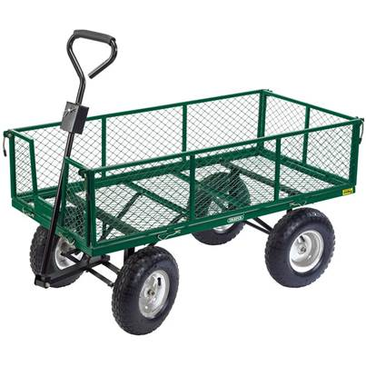 Draper Heavy Duty Steel Mesh Cart