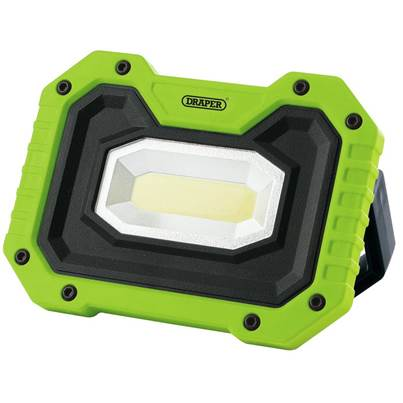 Draper 5W COB LED Rechargeable Work Light with Wireless Speaker (Green)