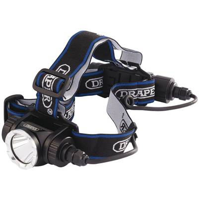 Draper 10W Rechargeable LED Head Torch