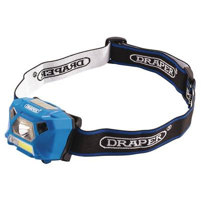 Draper 3W Rechargeable COB LED Headlamp