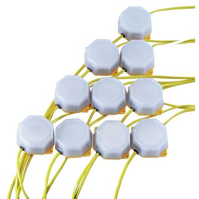 Draper 4W SMD LED Festoon String Lights (22 Metre Cable, Set of 10)