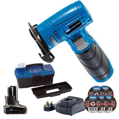 Draper Storm Force® 10.8V Angle Grinder/Cut-Off Tool Kit - Tool Kit 1