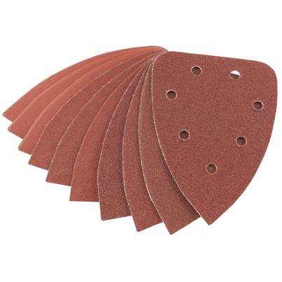 Draper Assorted Pack Aluminium Oxide Sanding Sheets (141 x 141 x 98mm)
