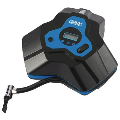 Draper 12V Mini Digital Air Compressor (250psi)