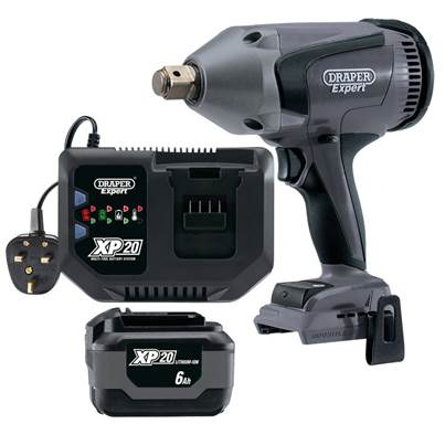 "Draper XP20 3/4"" Impact Wrench Kit"