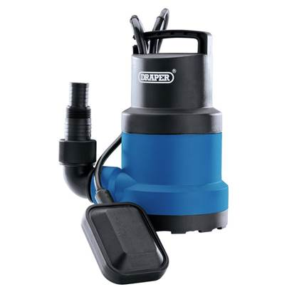Draper Submersible Water Pump With Float Switch (250W)