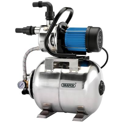 Draper Stainless Steel Booster Pump (800W)