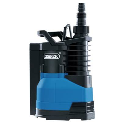 Draper Submersible Water Pump With Integral Float Switch (400W)